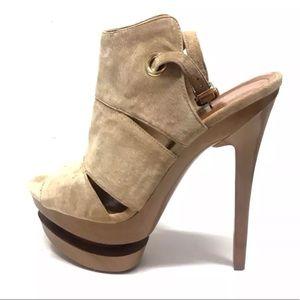 🔥Jessica Simpson 7.5 Cat Camel Platform Heels
